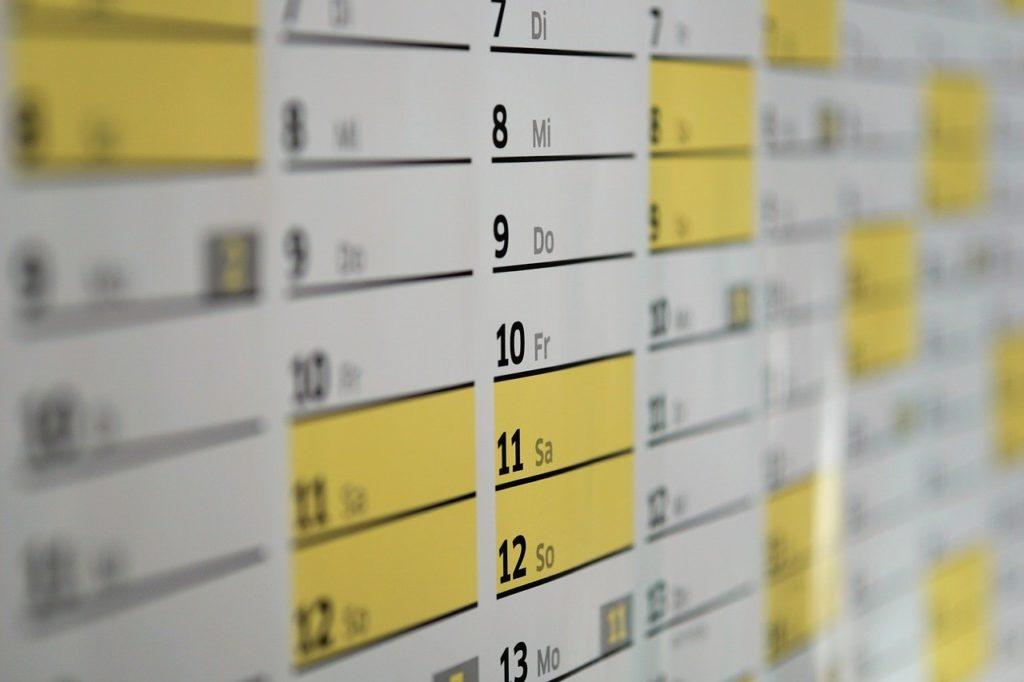 agendas en kalender